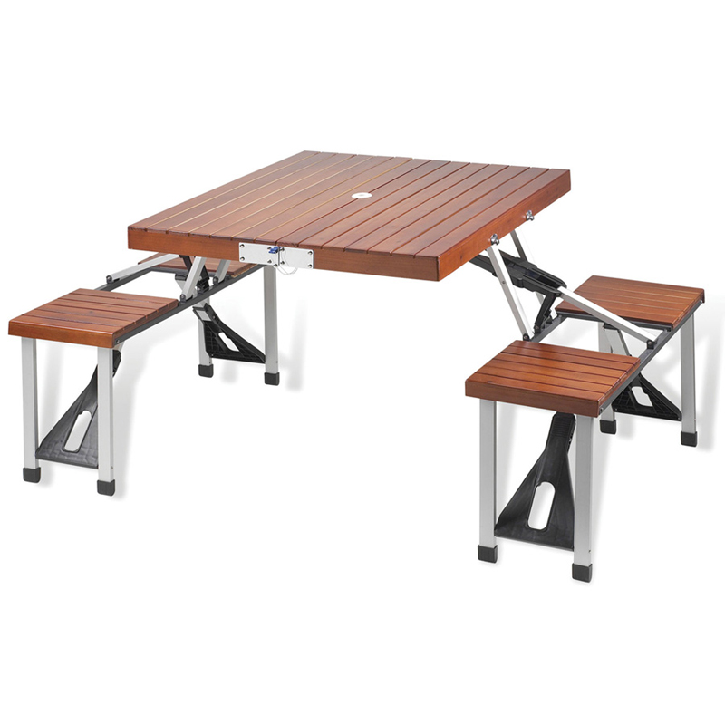 Swell Folding Wooden Picnic Table With Seats Pdpeps Interior Chair Design Pdpepsorg