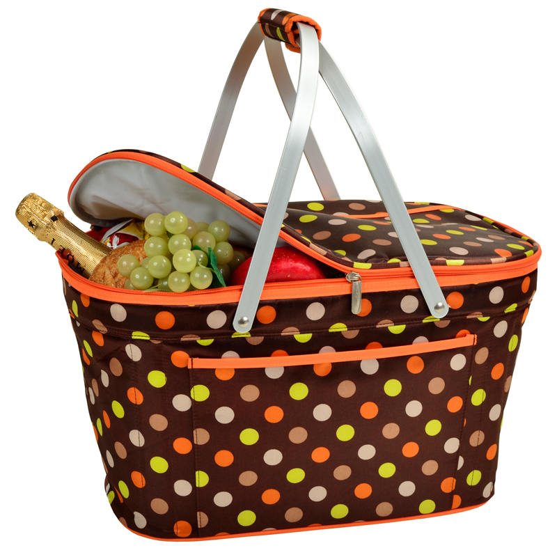 Collapsible Insulated Basket Cooler