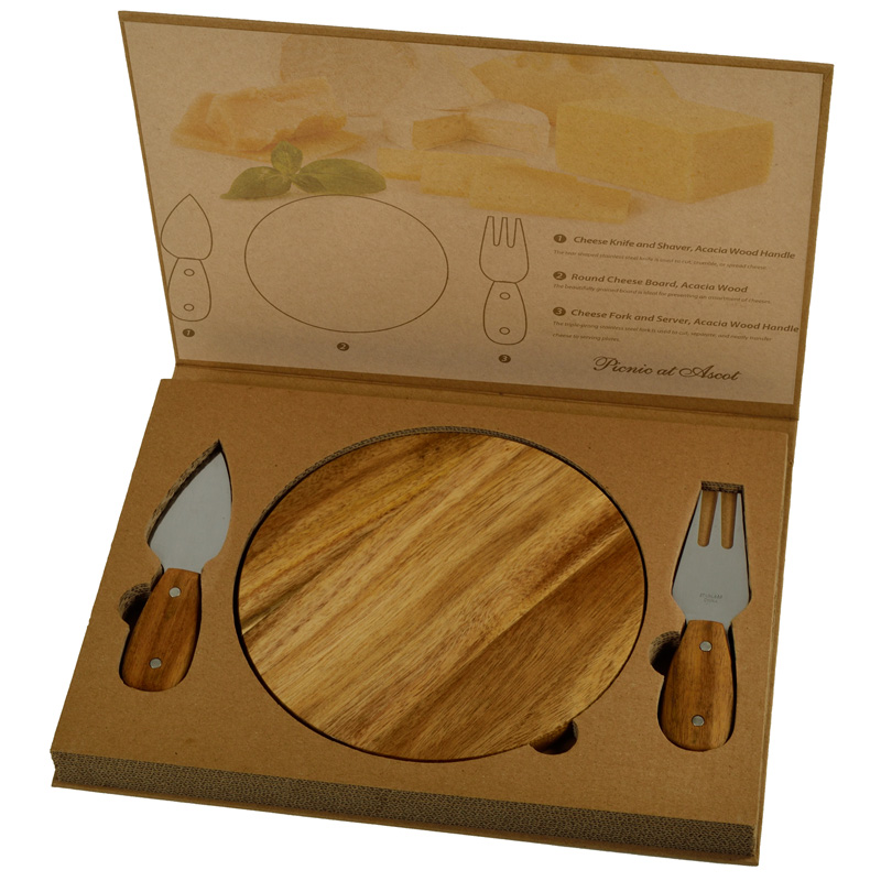 Acacia Bristol Cheese Board Set