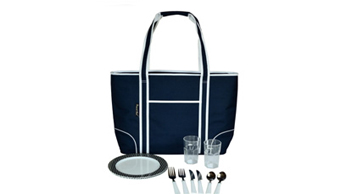 Insulated Cooler Tote for Two