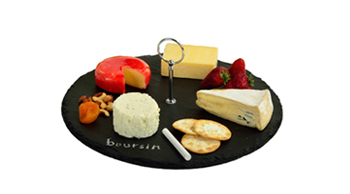 Selva Round Slate Cheese Board